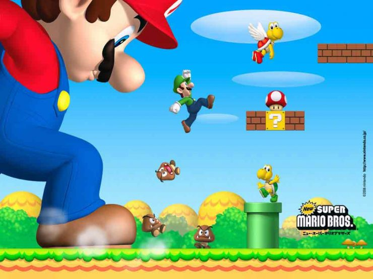 super m 2 740x555 بازی سوپر ماریو اندروید Super Mario HD