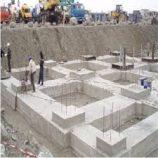 مراحل ساخت فوندانسيون در اسکلت بتونی
