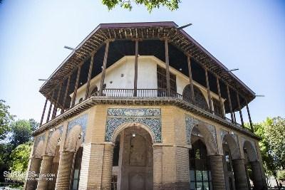 معماری بناهای شهر قزوين در دوران صفوی