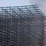 ساختمان اسکلت فولادی